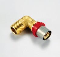 Racorduri de presare pentru tub multistrat - 1654CT