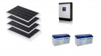 Sistem fotovoltaic Off-Grid 1kw PWM