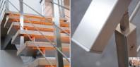 Scara din lemn dreapta sau balansata - EVENT Cube