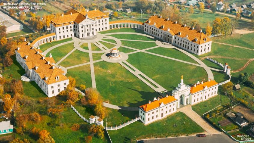 Palatul din Ruzhany, Belarus