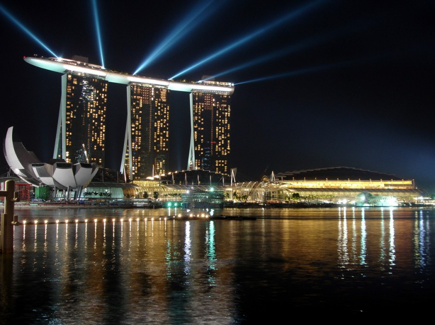 <b>Marina Bay Sands, Singapore</b>