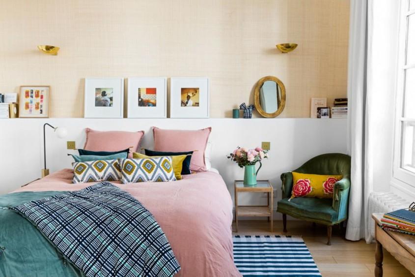 Dormitorul lui Morgane Sézalory