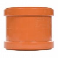 Mufă de reparație / mufă dublă din PVC