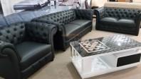 Set canapele din piele - MADRIGAL