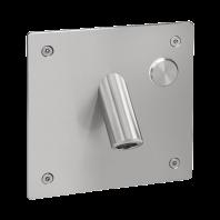 Baterie lavoar de perete din otel inox - SLU 44P