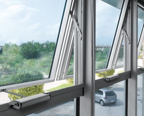"""<b>Automatizari Ferestre Siatec cu Lant</b> <p>Aceste automatizări sunt recomandate în special în aerisire și aport de aer pentru ferestrele verticale, care sunt montate în pereți și fațade. Spre exemplu, <a href=""""360 de ferestre au fost automatizate """" _mce_href=""""360 de ferestre au fost automatizate """" target=""""_blank"""">peste 360 de ferestre au fost automatizate de către Siatec</a>cu această soluție la Biblioteca Națională a României.</p>"""