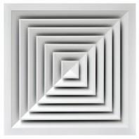 Anemostat multi-directional cu parte centrala detasabila - AQN