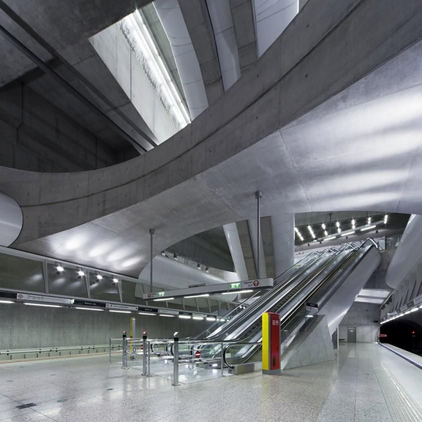 Linia de metrou M4 din Budapeste - de PALATIUM Studio