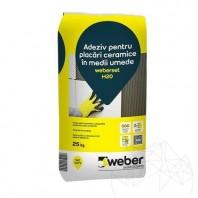 Adeziv pentru placari ceramice in medii umede - Weber Set H2O Weber Saint Gobain Romania  APN-1008