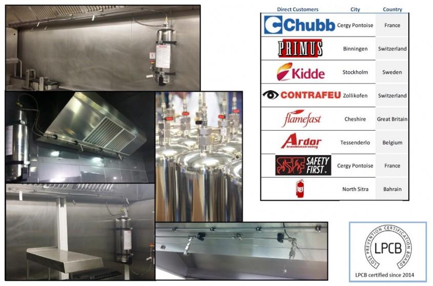 FireDETECT - Sisteme antiincendiu pentru bucătării comerciale