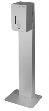 Distribuitor automat de dezinfectare din oțel inoxidabil pentru dezinfectarea maninilor cu lichid sau gel - SLZN
