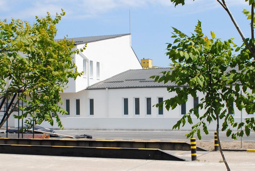 Vestiare pentru angajatii fabricii de pulberi metalice - Buzau 01.12  Buzau AsiCarhitectura