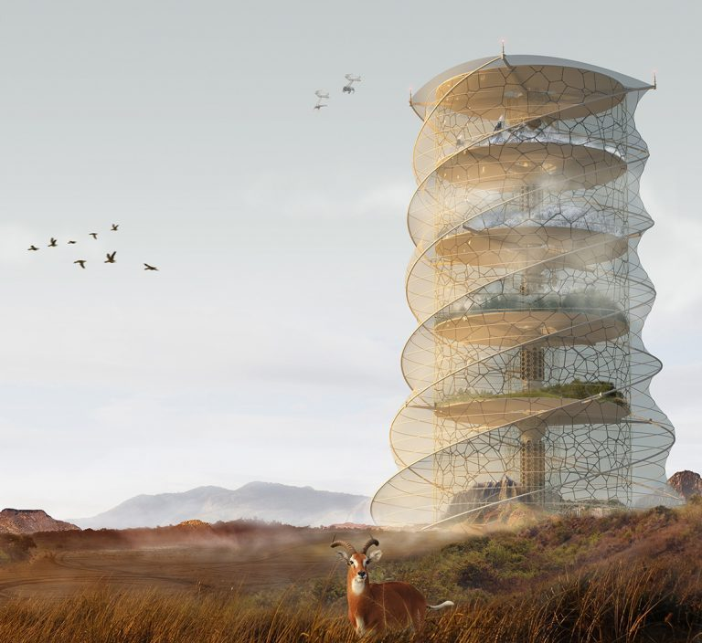 Creature Ark: Biosphere Skyscraper (Locul al III-lea)