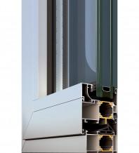 Ferestre din aluminiu cu bariera termica 3.3 M9660