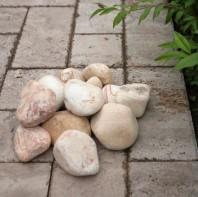 Pebble Sandstone Politiko 3-6 cm Sac 20 kg PIATRAONLINE  AG-2155