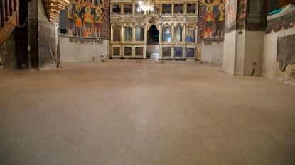 Interior Biserica Adormirea Maicii Domnului  Bucuresti BROWNSTONE