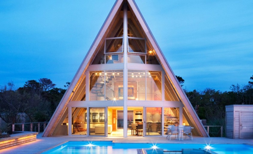 6. A-Frame Re-Think, Fire Island, New York