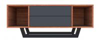 Comoda TV mica cu doua sertare - Simetric