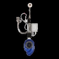 Unitate de spalare pisoare cu senzor radar pe placa de montaj - SANELA SLP 07B