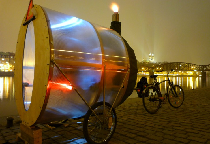 <b>Sauna de pe bicicleta</b>