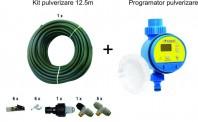 Set racire exterioara terase: Kit racire exterioara 12.5m + temporizator apa