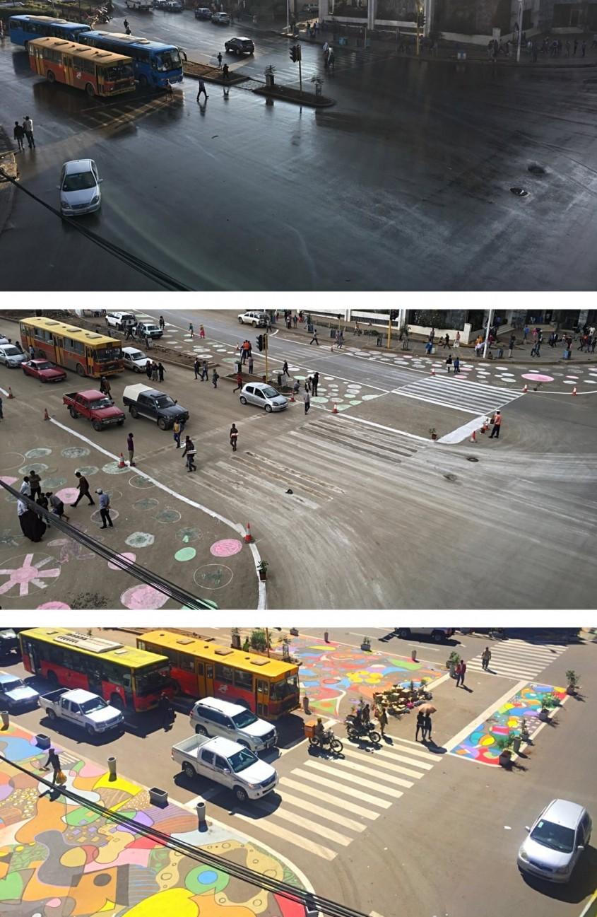 <b>Addis Ababa, Etiopia - Intersectia LeGare</b>