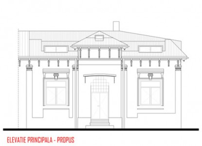 Remodelare mansarda locuinta existenta - str Ioan Bianu 10.4  Bucuresti AsiCarhitectura