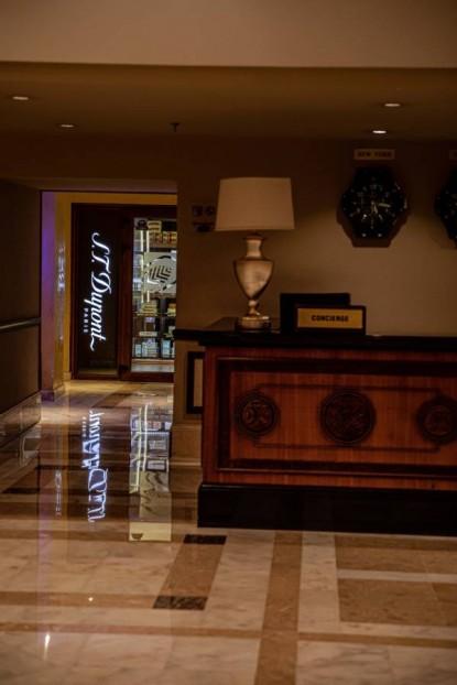 Restaurare marmura - Hotel Athénée Palace Hilton  Bucuresti BROWNSTONE