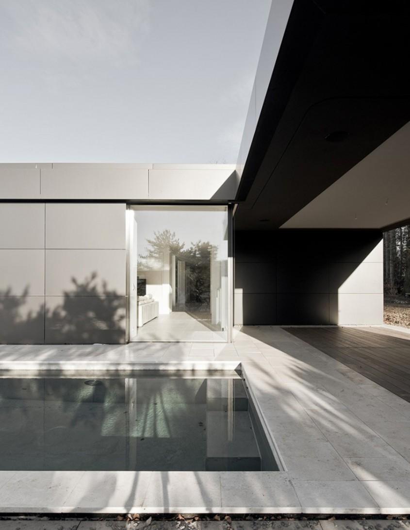 Fatada realizata cu panouri compozite din aluminiu ALUCOBOND, HOUSE D'AMICO