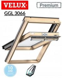 Fereastra de mansarda Velux GGL 3066 Premium - maner sus - Kripton