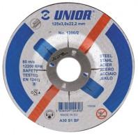 Discuri de taiere cu gaura micsorata, pentru otel 1200/2