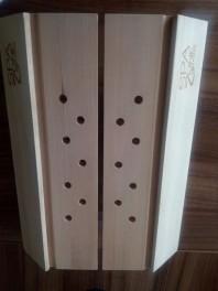 Abajur de colt pentru saune uscate