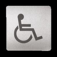 Pictograma toaleta pentru persoane cu dizabilitati - SANELA SLZN 44AC