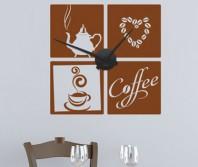 """Sticker tip ceas de perete """"La o cafea"""""""