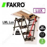 Scara metalica pentru acces in pod - FAKRO LML Lux