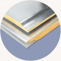 Placi din vata minerala de sticla cu folie de aluminiu P8058 URSA AIR Al-Tech-2