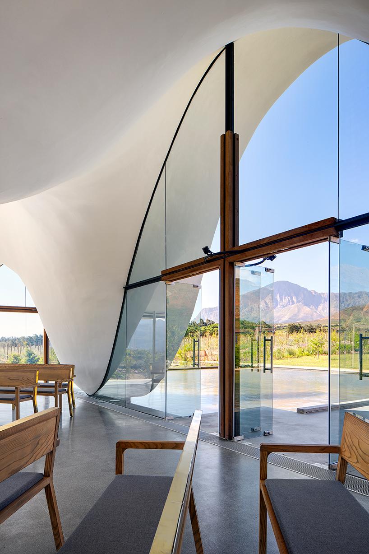 6. Capela Bosjes, Africa de Sud