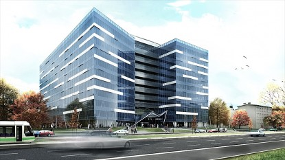 Anvelopa exterioara sticla Business Center - Anchor Plaza Metropol  Bucuresti SPECTRUM INOVATIV & INDUSTRIES