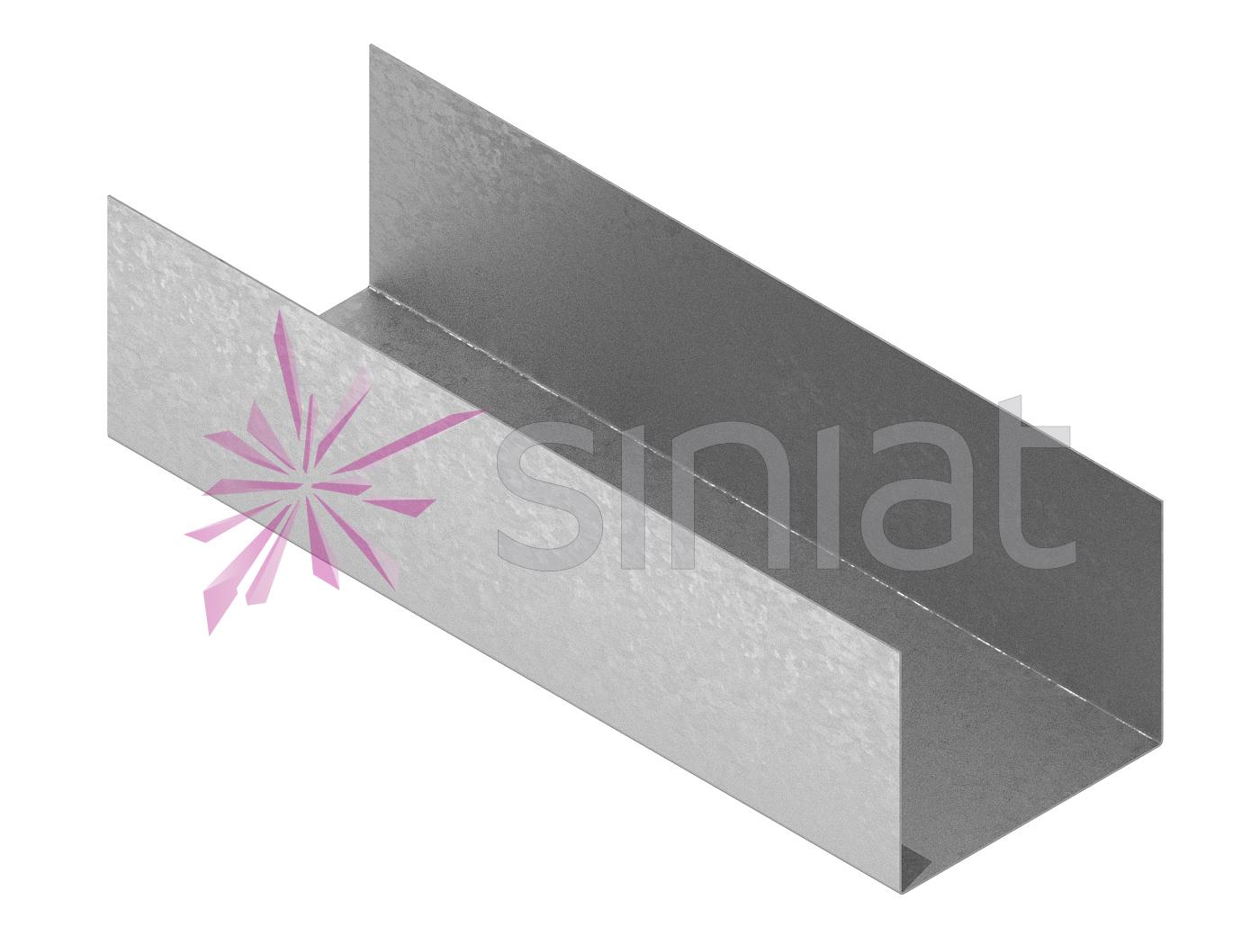 Profil NIDA Metal UW 80x100x80 0.8 mm