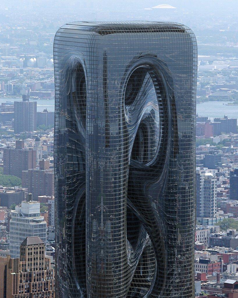 Sarcostyle Tower, un zgârie-nori inspirat de fibrele musculare