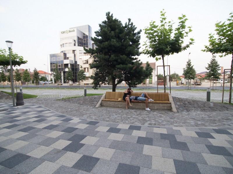 Amenajare spatii de odihna  Alba Iulia ELIS PAVAJE