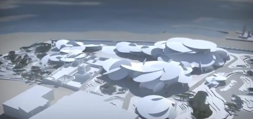 Muzeul National al Qatarului Cunoscut pentru proiectele sale cu un impact vizual dramatic, designerul francez Jean Nouvel se pregateste din nou sa culeaga lauri, de data aceasta pentru cladirea Muzeul National al Qatarului. Anuntat in 2010, proiectul dezvoltat in Doha este inspirat de trandafirul desertului, un mineral lamelar dispus in rozeta specific zonei. Muzeul, care ar trebui sa fie finalizat pe la inceputul acestui an, are o suprafata de 21.000 de metri patrati si va gazdui expozitii permanente si temporare, un auditoriu cu 220 de locuri, centre si laboratoare pentru cercetare, birouri, cafenele si multe altele.