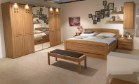 Set dormitor cu dulap sticla WIEMANN