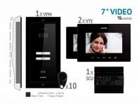 Kit video EXTRA 7'', panou aparent - VKE.P2FR.T7S9.ELB04