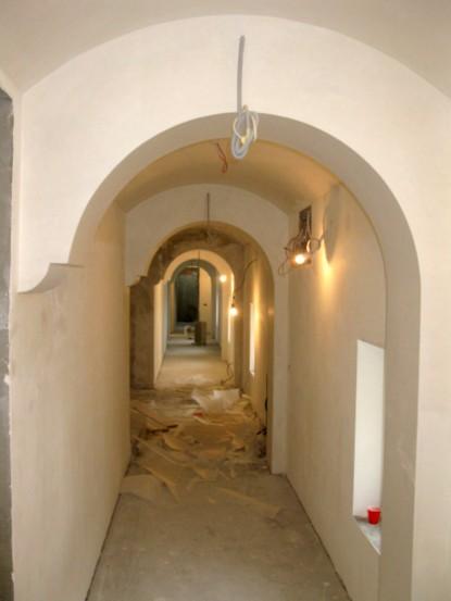 Hol in timpul restaurarii - Casa Memoriala Ilie Birt Brasov SAINT-GOBAIN CONSTRUCTION PRODUCTS ROMANIA - DIVIZIA