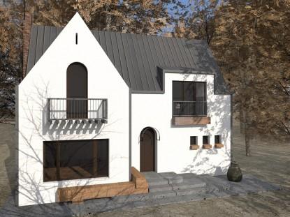 Casa de vacanta P+M - Nistoresti - Breaza 11.1  Breaza AsiCarhitectura