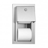 Dispenser semi-incastrat pentru hartie igienica - 0031