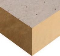 Placi de termoizolatie acoperite cu tesatura din fibra de sticla Sikatherm® PIR GT