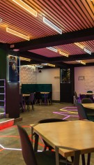 Sistem complet sonorizare-video-lumini pentru restaurant FEVER din Constanta