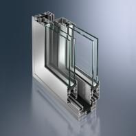 Profil pentru usi glisante din aluminiu - Schüco ASS 43